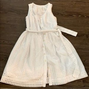 Kate Spade Broome Street eyelet dress